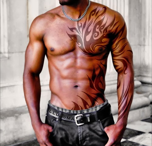 Sleeve and Chest Tattoo Ideas for Men