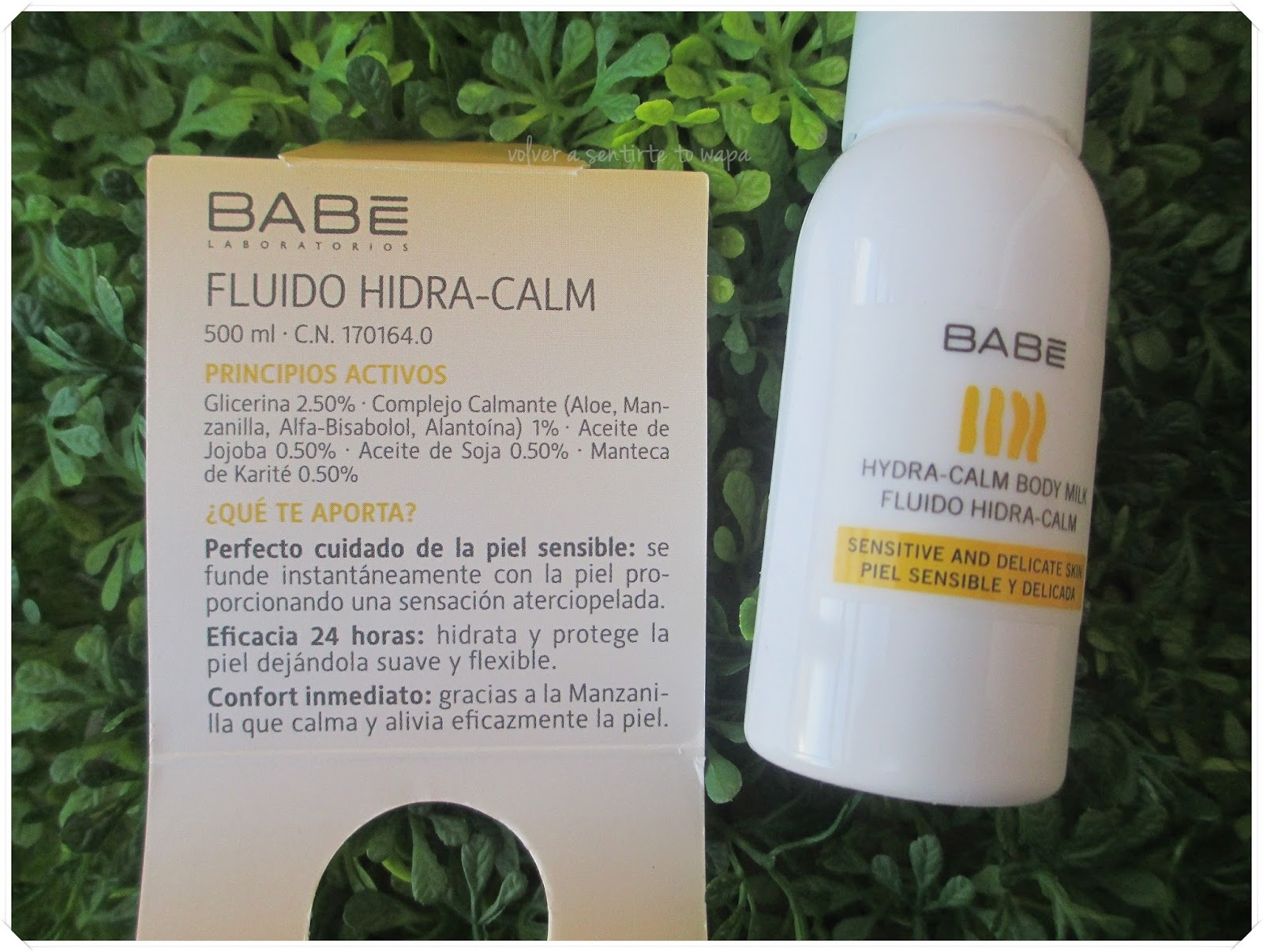 Hidra-Calm Body-Milk de Laboratorios Babè