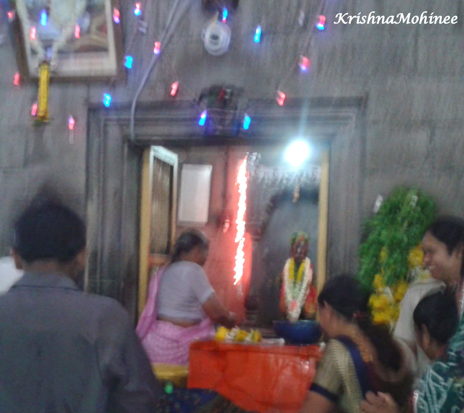 Image: Lord Vitthala Darshan inside Garbhagruha