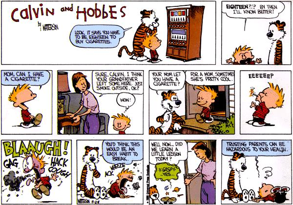 Bronze Age Babies: Discuss: Calvin And Hobbes