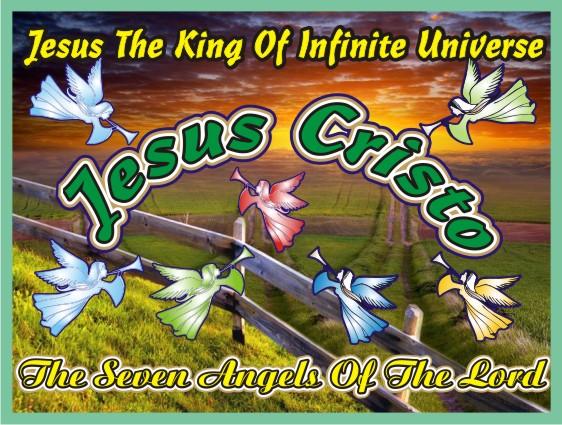 Jesus Cristo O Rei do Universo Infinito