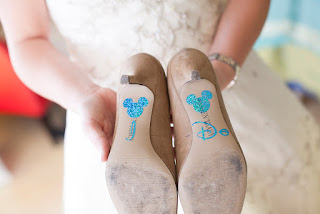 "A Disney-loving Bride's ""Something Blue"""