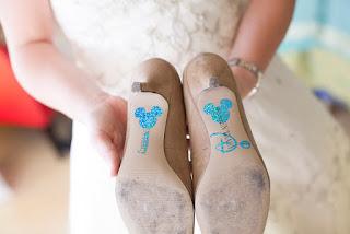 "A Disney-loving Bride's ""Something Blue"""