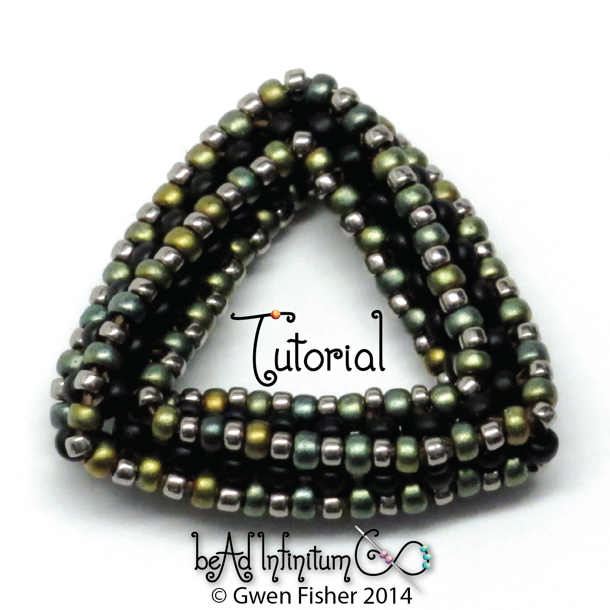 gwenbeads: New Tutorial - Highly Unlikely Triangle with seed beads ...