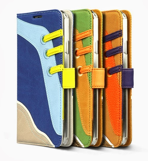 Sneakers Diary Case Samsung Galaxy Note 3 Leather Diary Cases