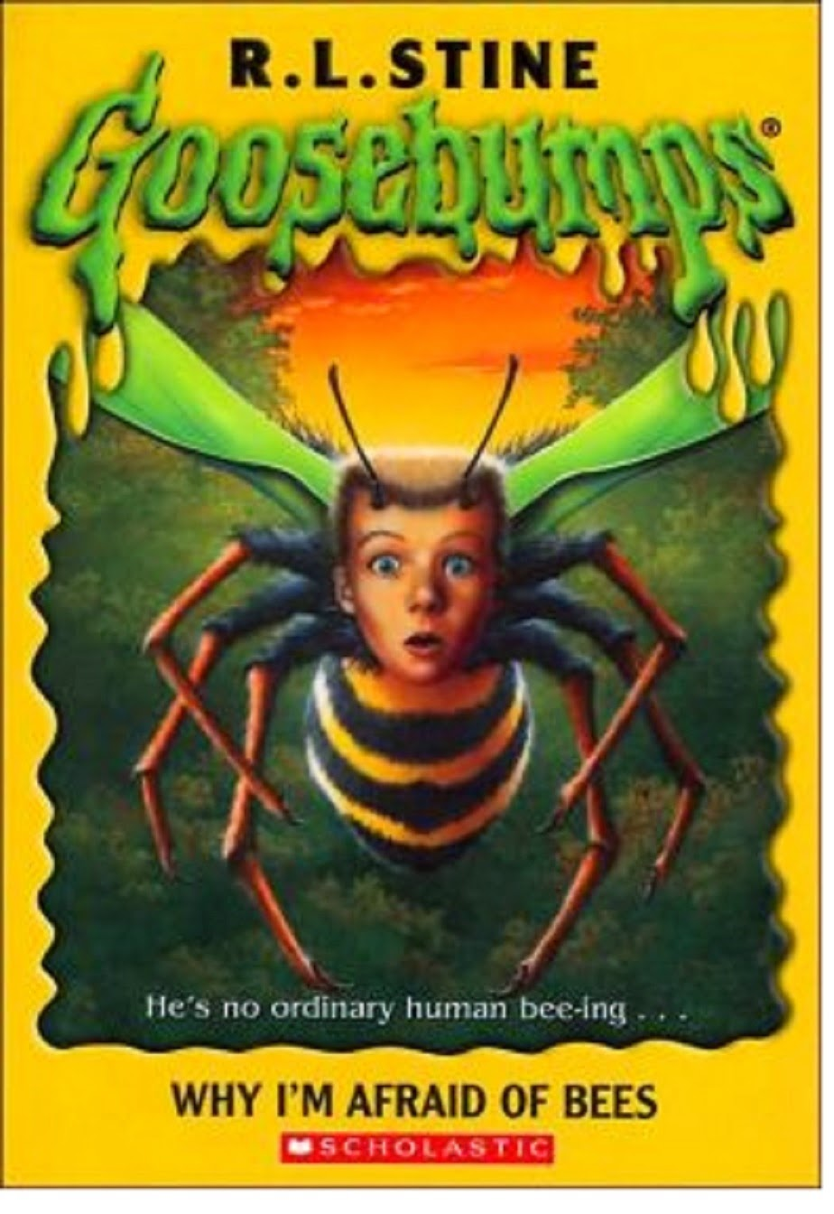 a summary of why i am afraid of bees by rl stine When you were a kid and rl stine's books scared you why i'm afraid of bees for rl stine's goosebumps get the minimalist treatment with these posters.