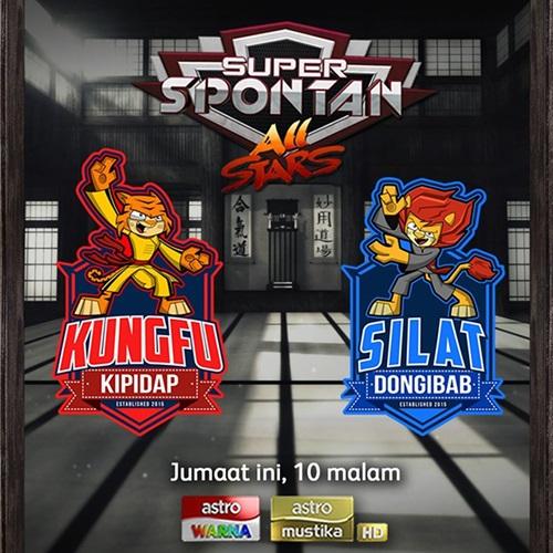 Pemenang dan juara Super Spontan All Stars 2015, keputusan rasmi pemenang super spontan musim kedua, hadiah pemenang Super Spontan All Stars 2015 musim 2, gambar pemenang Super Spontan All Stars 2015