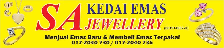 Kedai Emas SA Jewellery Beli Emas Harga tertinggi..!!!