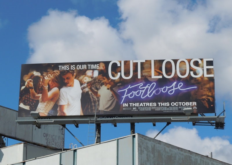 Footloose 2011 billboard
