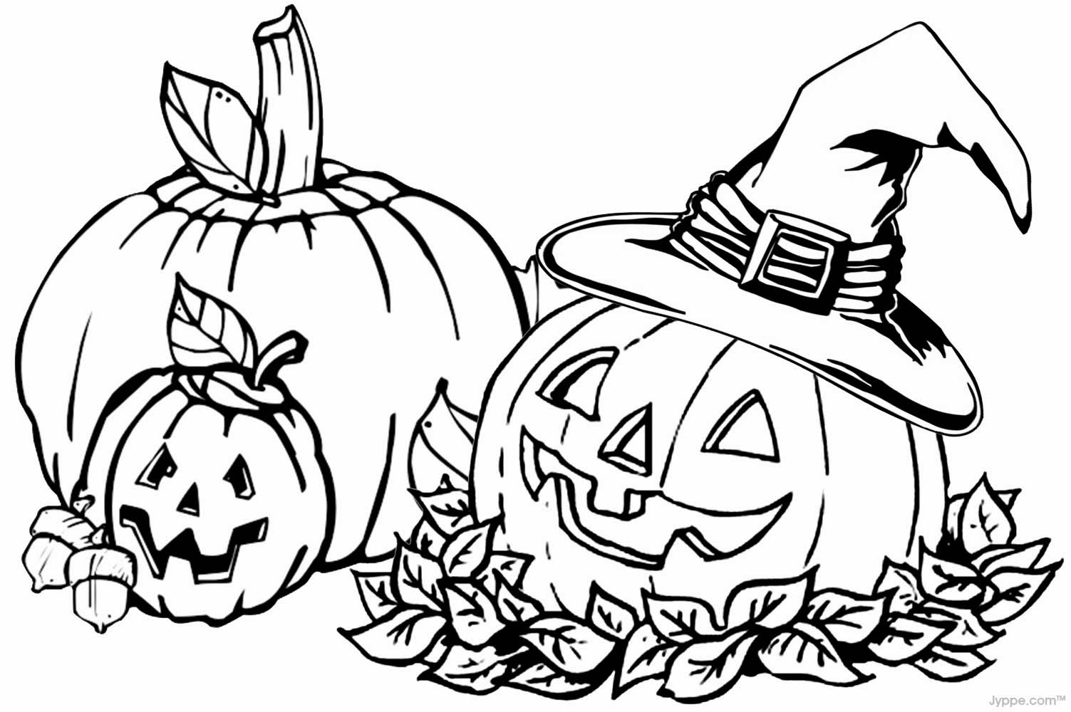 pumpkin patch coloring pages - photo#19