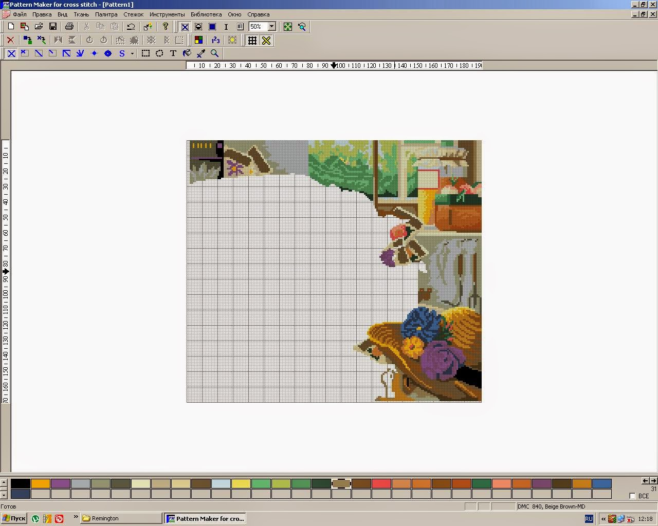 Pattern maker вышивки по фото