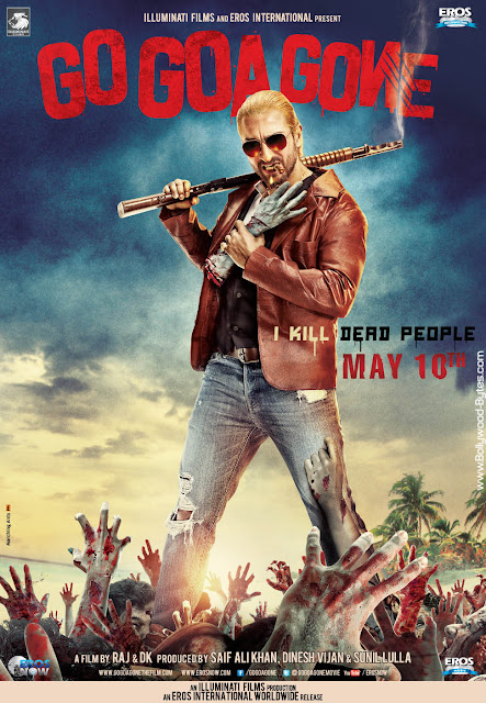 Second Look Poster - Go Goa Gone - Feat. Saif Ali Khan