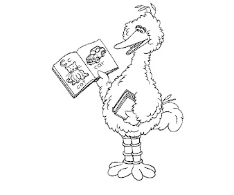 #4 Sesame Street Coloring Page