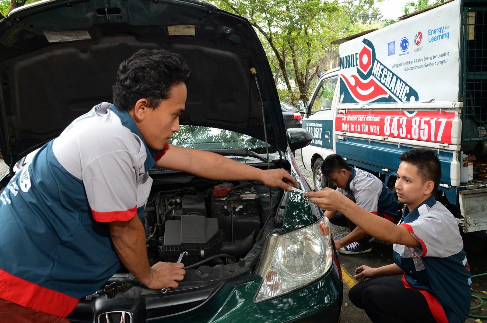 Caltex-Pugad Mobile Mechanics