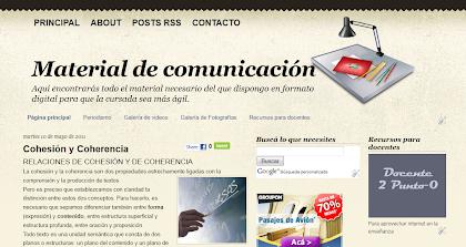MATERIAL DE COMUNICACIÓN