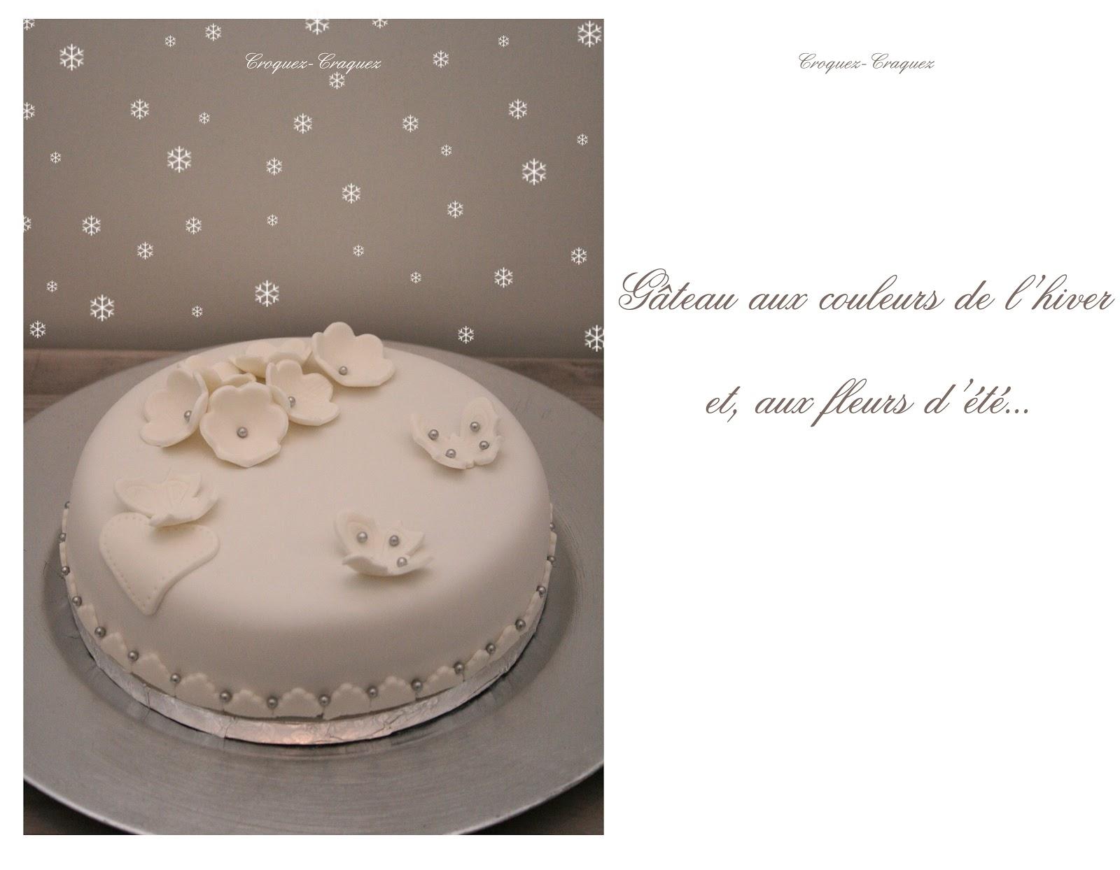 Croquez, craquez: Gâteau de fête en pâte à sucre!