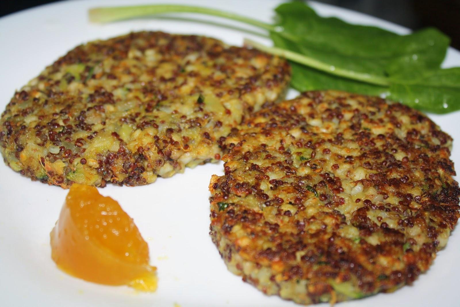 Mis consejos y recetas saludables hamburguesas de quinoa y trigo sarraceno - Cocinar quinoa con verduras ...