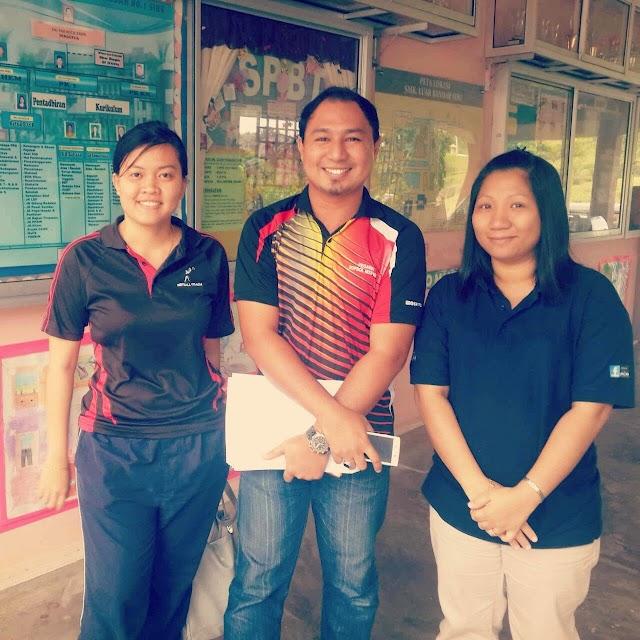 Kenangan Akhir di Bumi Sibu Sarawak Dengan Rakan Guru