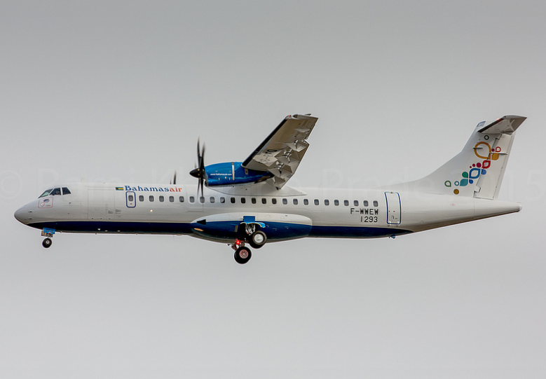 Bahamasair recibe su primer ATR 72-600