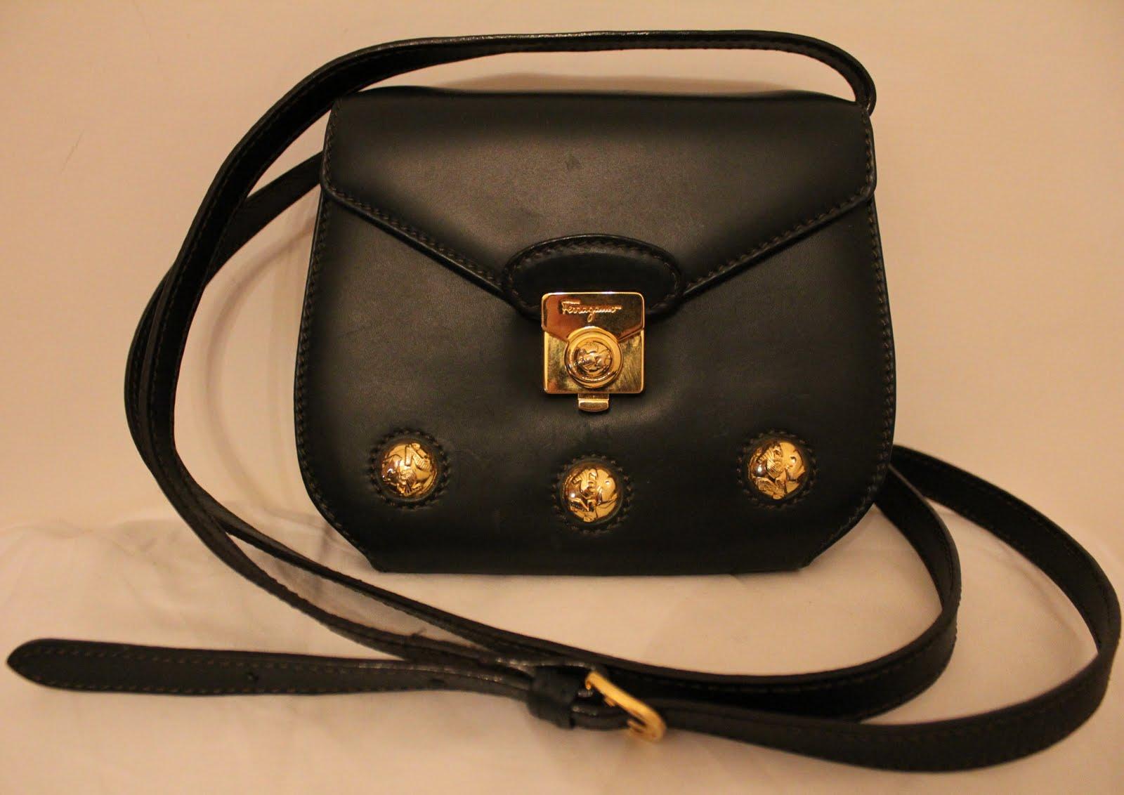 6fa85100f5b6 Vintage.Pristine  1960 s Salvatore Ferragamo Bag