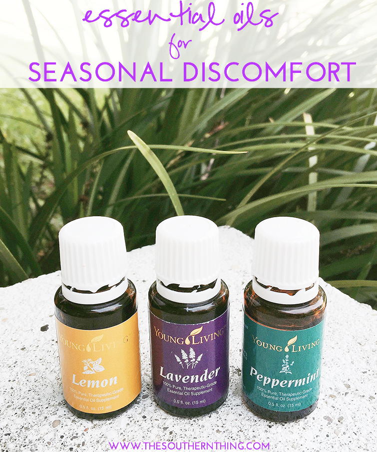 Essential Oils for Allergies and Seasonal Discomfort