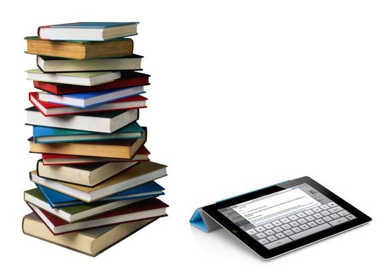 ipads replacing textbooks