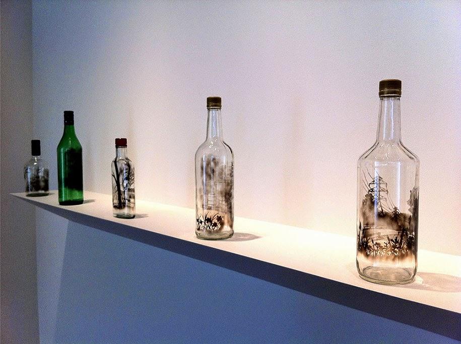 smoke bottle drawings jim dingilian