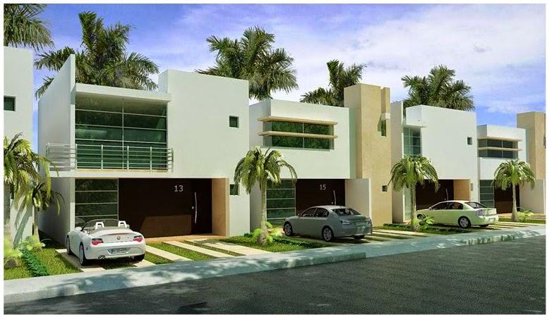 Fachadas de casas modernas fachadas de casas modernas for Fachadas de casas mexicanas