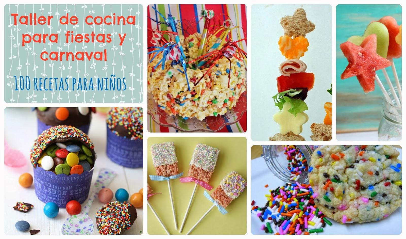 Recursos taller de cocina de carnaval y fiestas lluvia for Cocina para fiestas