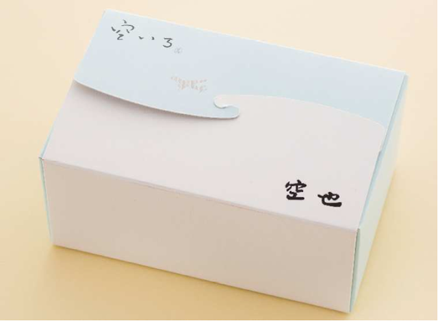 JAL will present the dessert in a way that passengers can easily take them home.