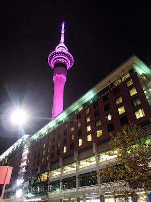 Auckland 奧克蘭, Sky Tower, Sky City