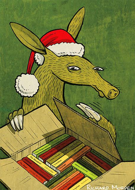 Christmas Aardvark