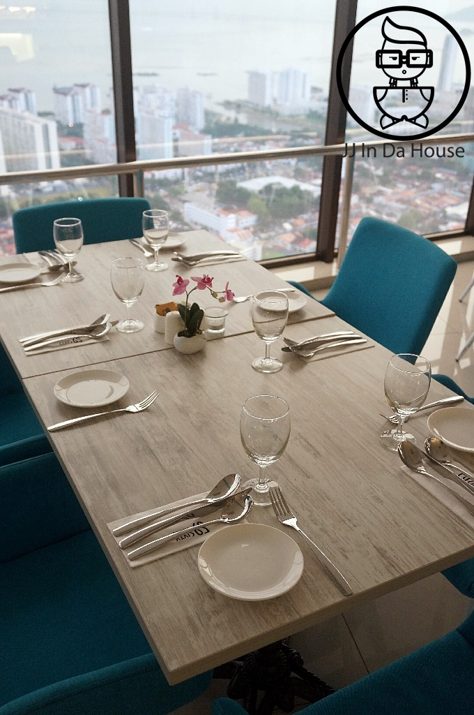 Every Table By The Window Will Give A Breathe Taking View Especially If You Are Facing Weld Quay Where Can Also See Mainland Of Penang Too