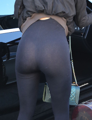 Kylie Jenner Wears Thong & Leggings To Visit Lamar Odom