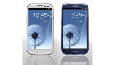 Samsung Galaxy S3 ominaisuudet