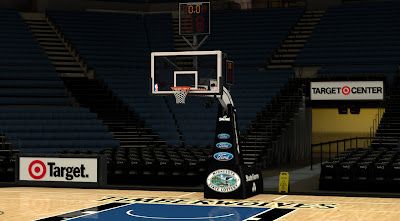 NBA 2K14 Minnesota Timberwolves Court Mod