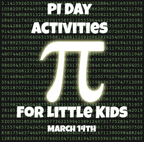 PI Day Activities For Little Kids