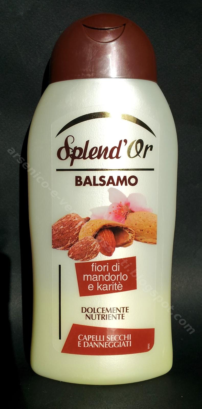 Splend'Or Balsamo Fiori di Mandorlo e Karité