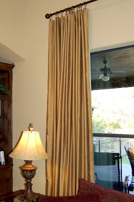 Lined Curtain Panel Tutorial