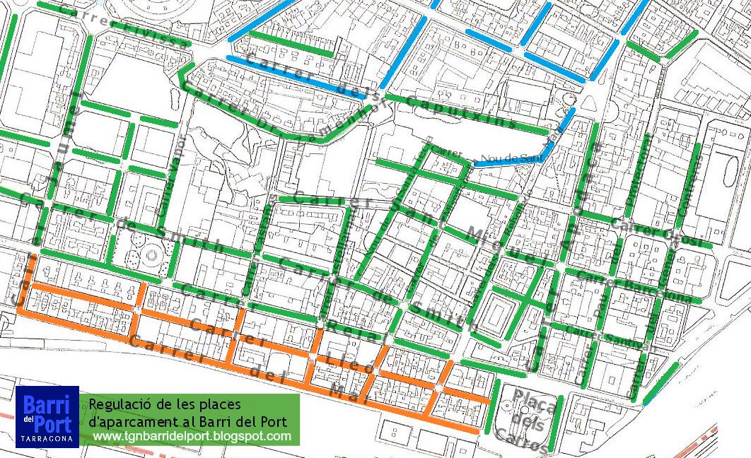 Barri del Port TGN: El Carrer Apodaca i Pla�a dels Carros seran ...