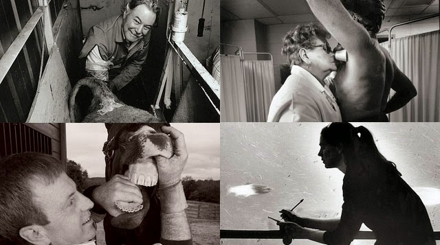 Trabajos maravillosamente bizarros y las personas que los realizan