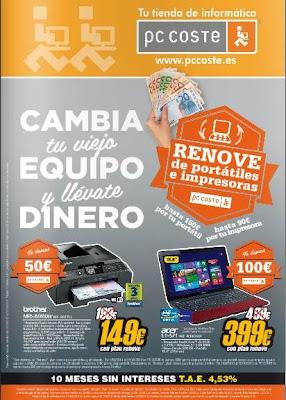 pc coste plan renove portatiles sep 2013