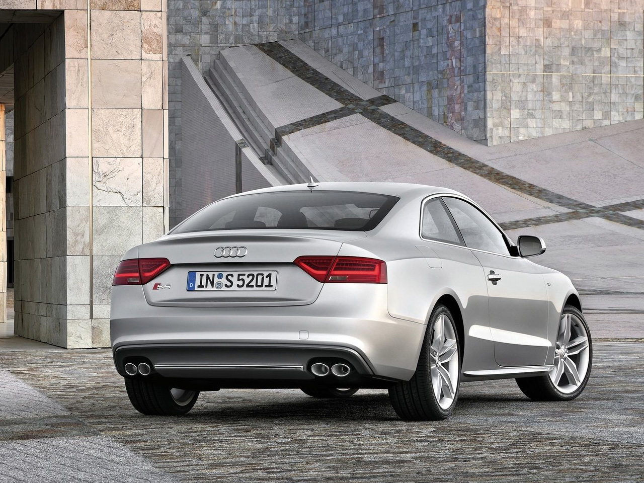 2012 audi s5 sportback rear angle 1 Car Pictures