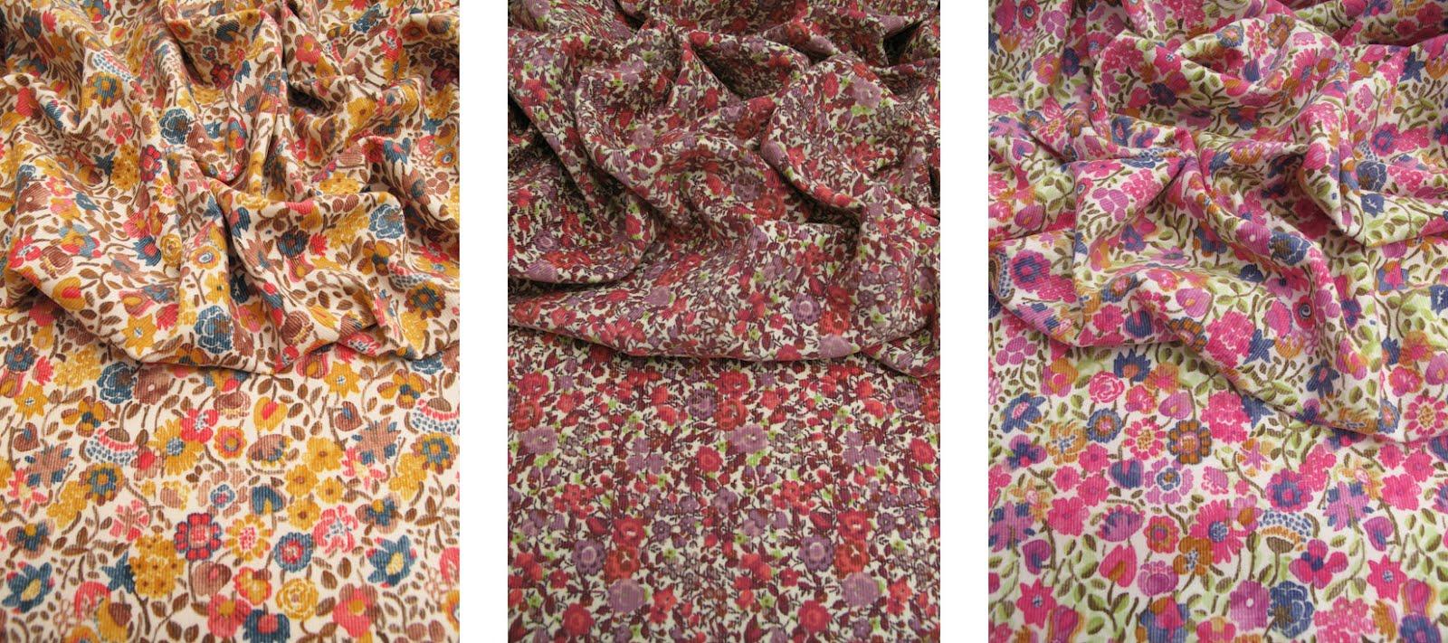 La plus belle collection de tissus liberty velours liberty - Voile de forcage au metre ...