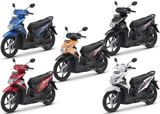 Predikat Motor Paling Irit Yakni Honda Beat
