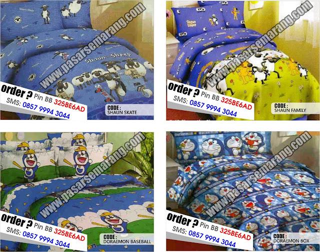Toko SPrei Online Shaun The Sheep Doraemon Motif KArtun lain murah