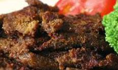 Resep praktis (mudah) daging gepuk spesial (istimewa) khas Bandung empuk, enak, gurih, lezat
