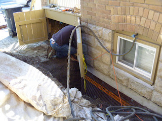 Wet basement waterproofing foundation Scabrorough Toronto
