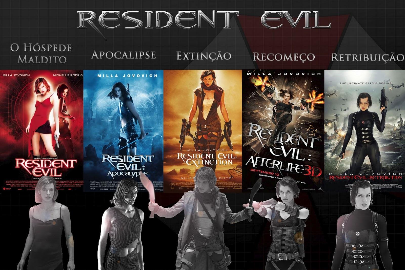 Resultado de imagem para Resident Evil (Coleção)