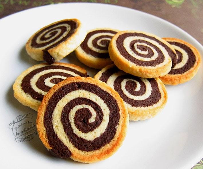 bredeles spirales vanille et chocolat : il était une fois la